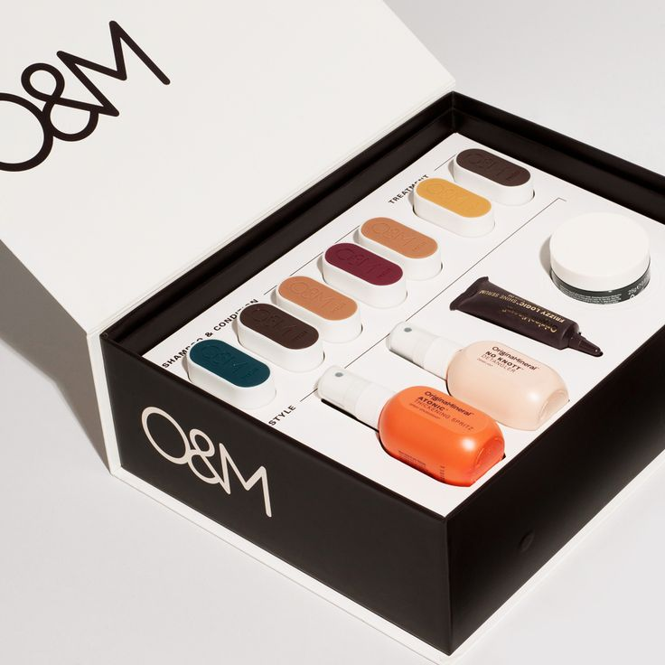 Love this Box of Tricks #packaging PD | design package box haircare OM / Original Minerals
