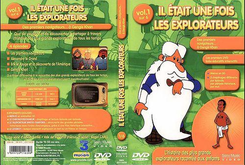 il etait une fois les explorateurs - Dvd Volume 01