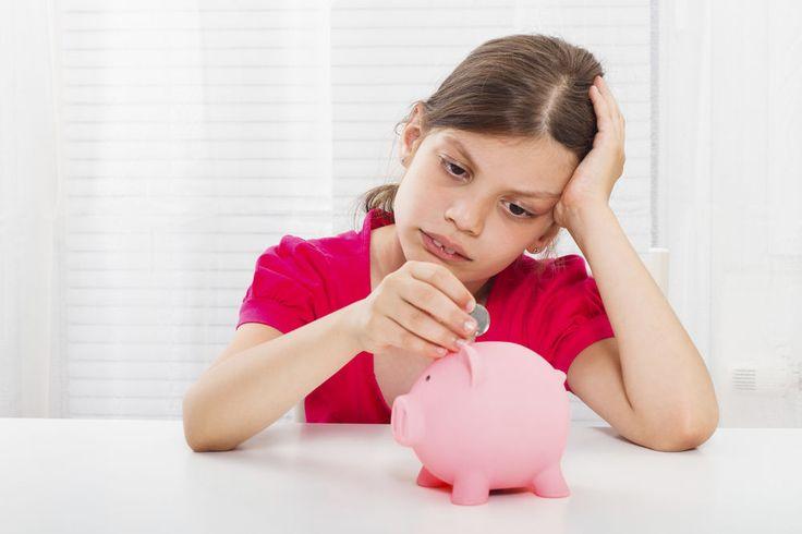 sad child money issues
