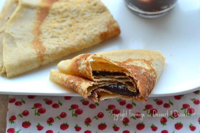 Fromage ou Dessert ? Dessert !!!: Crêpes au rhum à index glycémique bas