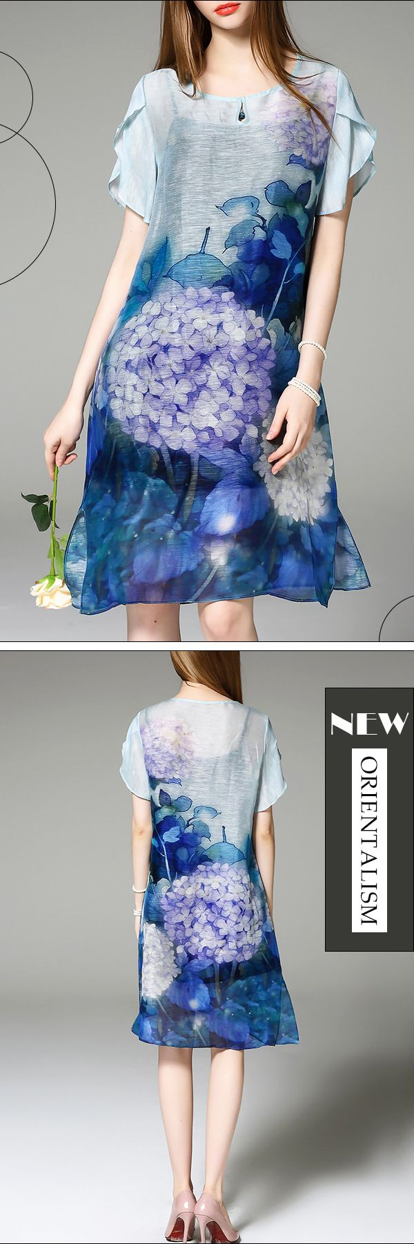 Let Life Be Beautiful Like Summer Flowers. Got This Stunning Dress and Visit VIPme.com