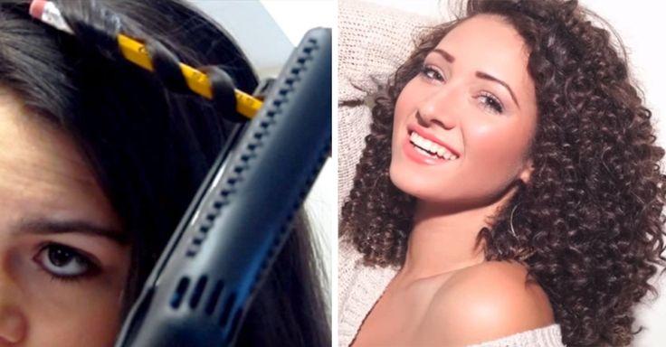 Las chicas de cabello lacio envidiamos más que nunca el rizado y el volumen, así que contamos con estos 10 trucos para crear rizos de la noche a la mañana