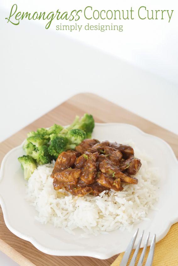 Lemongrass Coconut Curry
