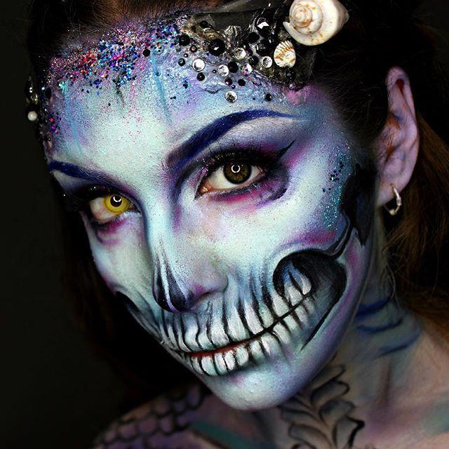 Instagram media by ellie35x - More of my Zombie Mermaid!