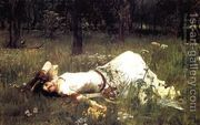 Ophelia 1889 by John William Waterhouse