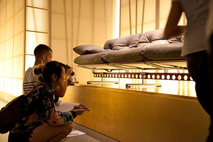 JENNY HSU, YUNA KIM and BENJAMIN BILLICK visiting #pfmuseum