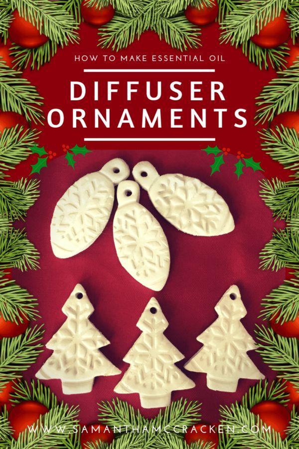 How to Make Essential Oil Diffuser Ornaments | Essential Oil Creative | Recipe in 2020 ...