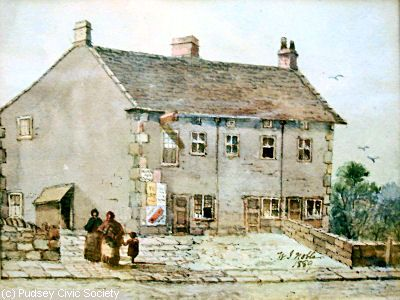 Pudsey workhouse, 1889