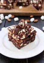 Rocky Road Brownies | thekitchenpaper.com