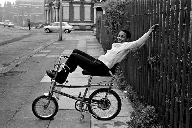 Boy on Chopper, 1970. By Paul Trevor, via The Standard.