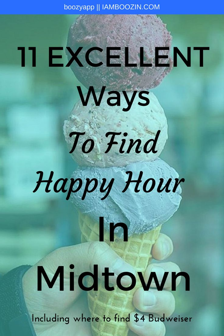 Happy Hour Midtown | 11 Excellent Ways To Find Happy Hour In Midtown [Including where to find $4 Bud]...Click through for more!  Happy Hour NYC Happy Hour New York New York Happy Hour NYC Happy Hour Midtown Happy Hour