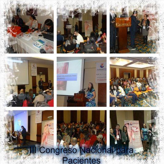 Todo un éxito resultó el III Congreso Nacional de Pacientes reaizado el 14 de Noviembre de 2015 en Bogotá