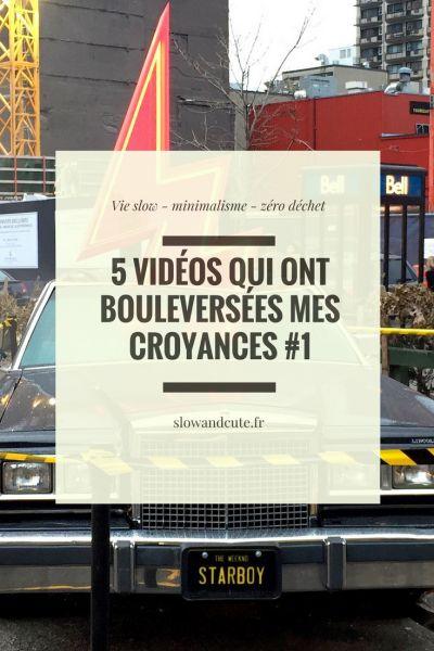 5 vidéos qui ont bouleversées mes croyances #1