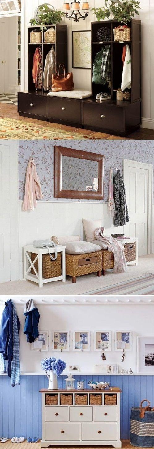 DIY Mudroom And Hallway Storage Ideas - #home decor ideas #home design - http://yourhomedecorideas.com/diy-mudroom-and-hallway-storage-ideas-2/