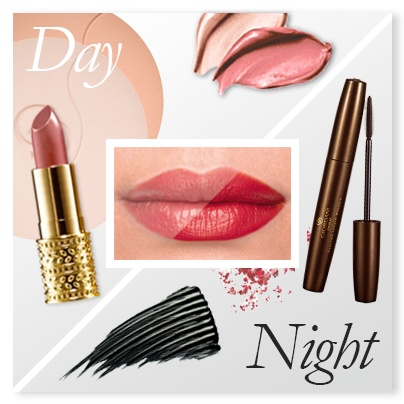 A classically elegant day look using a discreet nude shade (GG Jewel Lipstick, 22744) of lipstick can easily be turned into a breathtaking evening look with a bold red shade (GG Jewel Lipstick, 22751). For elegant eyes finish with a sweep of mascara (GG Supreme Length, 24097) to instantly achieve dramatic lash curl and length.