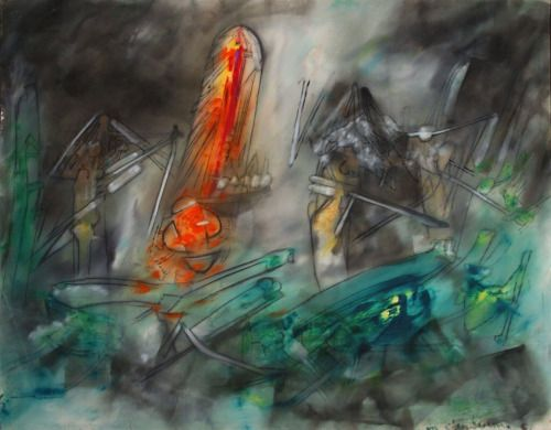 The World of Crime Forever Present by Roberto Matta