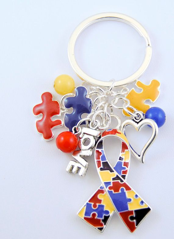 Soo buying this keychain its amazing!!  I 100 percent support any research too understanding autism :)