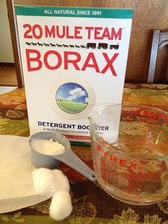 Borax Ant Baits - use borax mixed with sugar and water to kill ant colonies invading your kitchen, or anywhere else for that matter. The workers take the borax and sugar back to the colony and feed it to the queen, killing or weakening the colony.