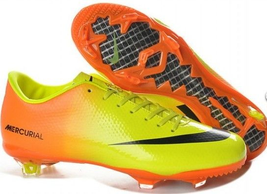 77be7bd89 aliexpress 2013 new nike mercurial 9 fg nike mercurial vapor ix firm ground  boots in orange