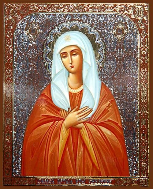 Tenderness Icon of the Mother of God http://catalog.obitel-minsk.com/bam-51-2-81-bozhija-mater-umilenie-13h16-sm.html #Orthodox #Icons - #OrthodoxIcons - #Eastern #Orthodoxy, #Theotokos, #VirginMary, #Miracle, #Blessed #Faith