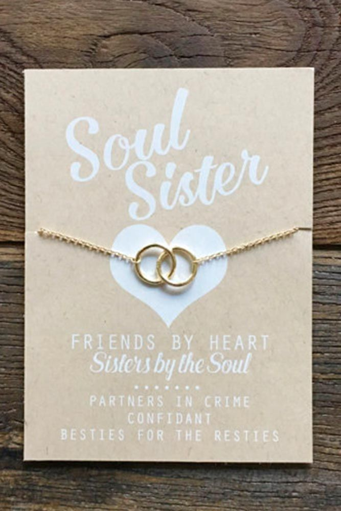 18 Cute and Thoughtful Bridesmaid Gifts for Your Girls Bridesmaids gifts symbolize your love and appreciation to those who have been with you from the very beginning of this bridal mess. That is why it has to be something unique and something that can be carried through years without losing its meaning and value. http://glaminati.com/thoughtful-bridesmaids-gifts/