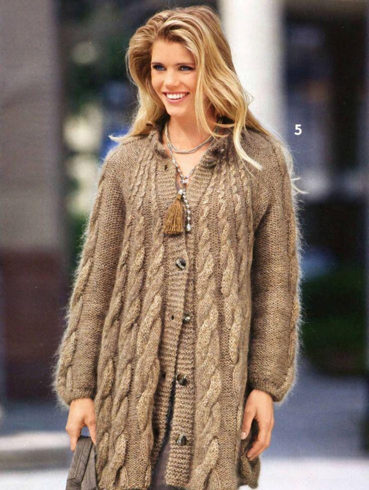 Вязаные кофты (142 фото): модные, теплые, реглан, на пуговицах, жакеты кофты, из мохера, короткая, ажурная, на одно плечо