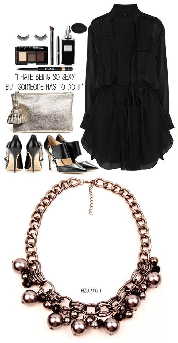 #pearl #statement necklace #bizsukcom www.bizsuk.com