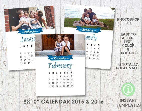calendar 2017 and 2018 photography template 8x10 photoshop template z1f005 you 39 ll receive 2. Black Bedroom Furniture Sets. Home Design Ideas