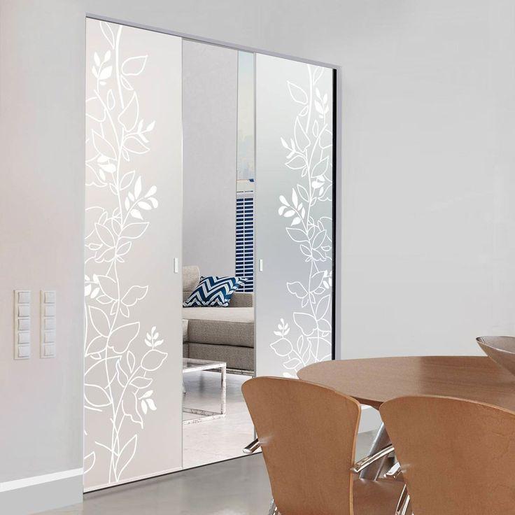 91 best Syntesis line double frameless glass pocket doors