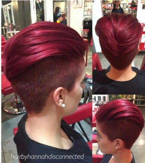 Kapsel voor rood haar.