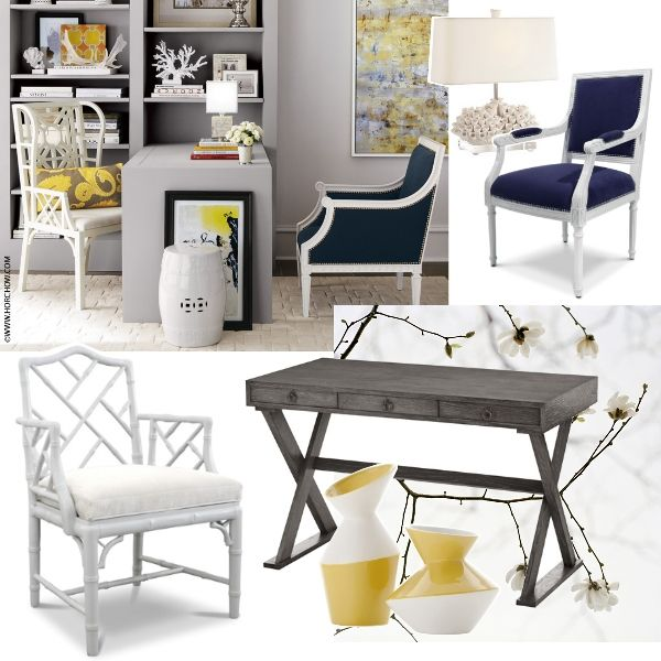 feminine office decor. all these pieces are the perfect style office dcor add a feminine touch decor