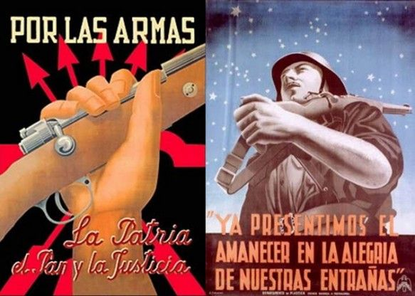 Cartelismo en la Guerra Civil Española.  http://www.areacreativa.es/blog/el-cartelismo-en-la-guerra-civil-espanola