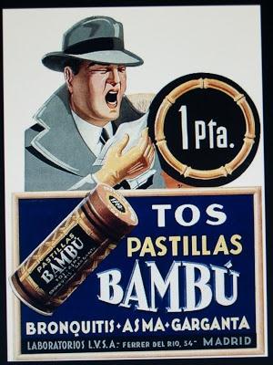 "Pastillas ""Bambu"" - Propaganda espanola"