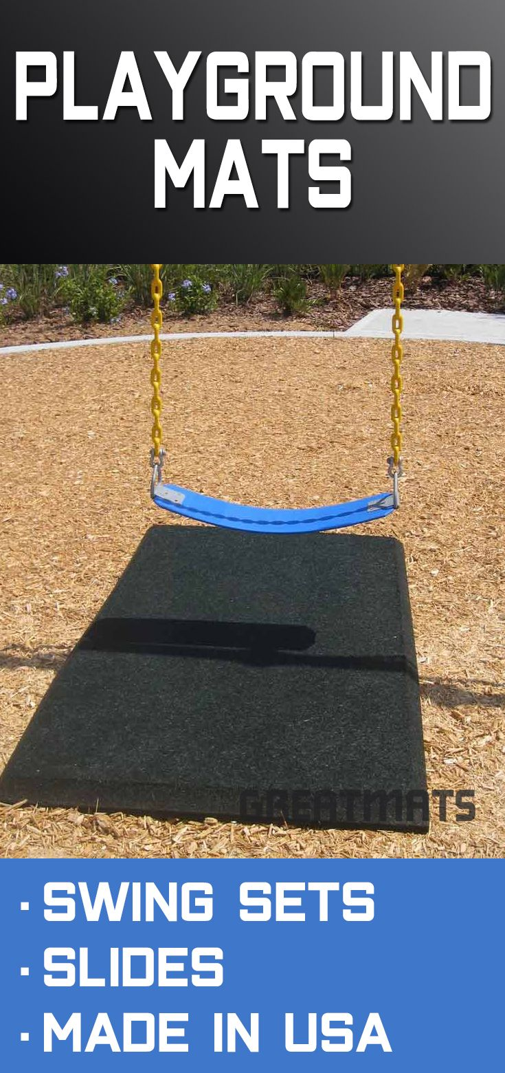 Blue Sky Playground Rubber Slide Mats 2 X 4 Ft X 1 Inch Playground Mats Rubber Playground Playground Surface