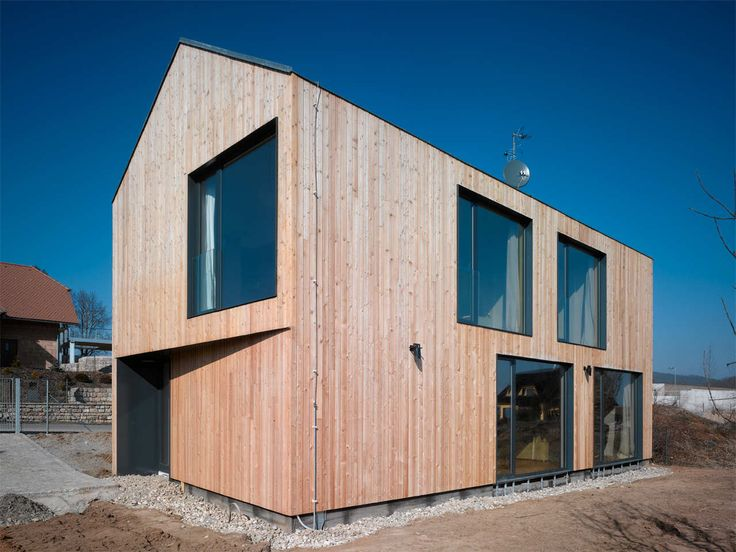 Built by studio pha in Lety, Czech Republic with date 2011. Images by Filip Šlapal. The goal of the design was a house that would, in its size, level of comfort and architectonic conception correspond ...