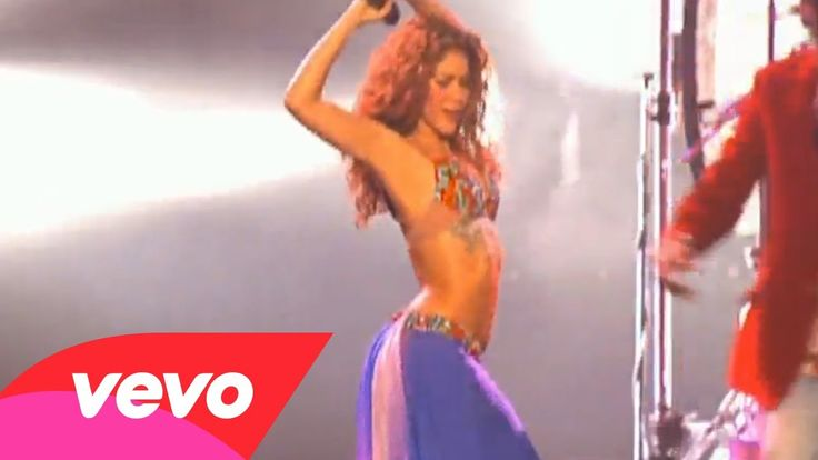 """Shakira - """"Hips Don't Lie"""" (Live) ft. Wyclef Jean ♪♪♪ Music video by Shakira performing """"Hips Don't Lie"""" (featuring Wyclef Jean). (C) 2007 Sony Music Entertainment (Holland) BV"""