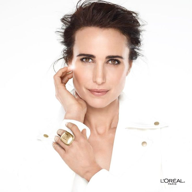 The stunning Andie MacDowell.