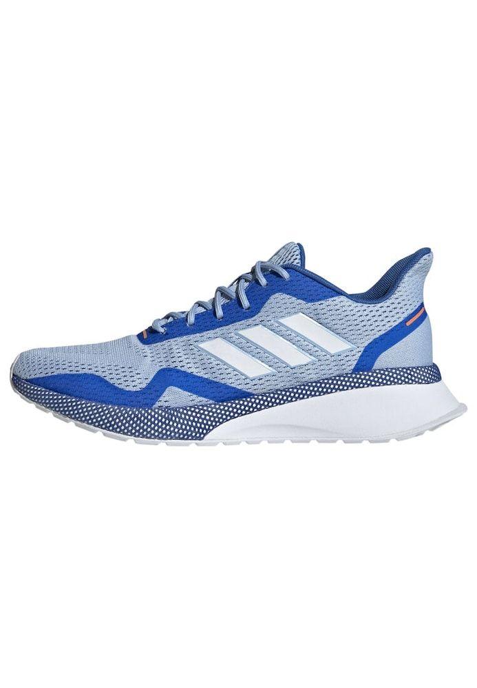 Adidas Performance Schuhe Nova Run X Damen Blau Hellblau Weiss Grosse 38 5 39 Adidas Adidas Performance Turnschuhe