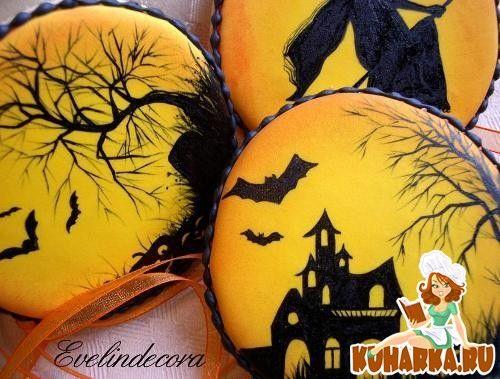 Пряники и печенья на Хеллоуин