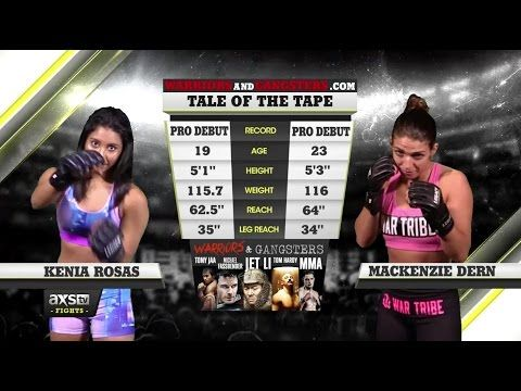 MacKenzie Dern's MMA Debut Just Released — Full Fight Replay