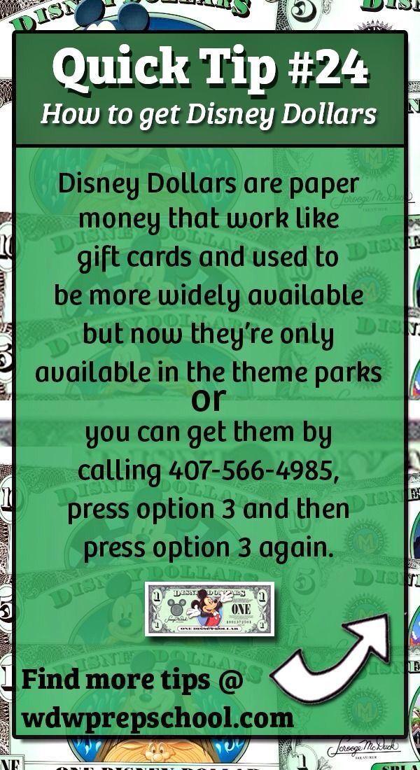 Disney World Quick Tip