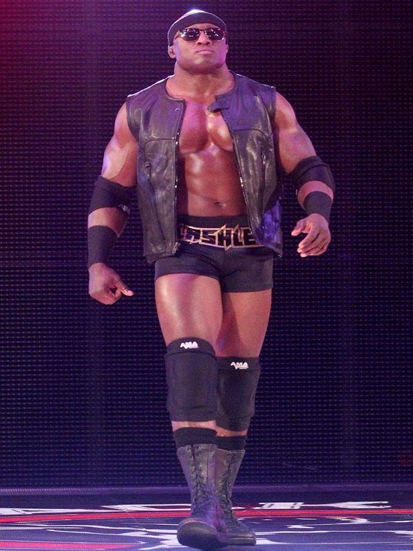 Wwe Wrestler Franklin Roberto Lashley Bobby Lashley Vest Leather Vest Wwe Costumes Wwe