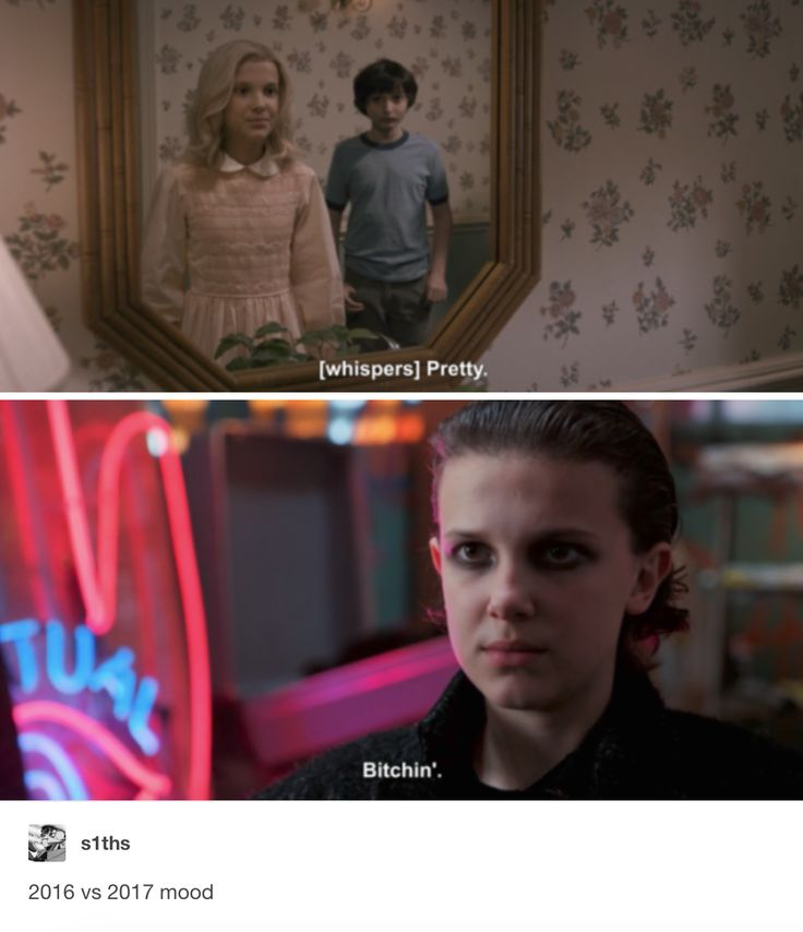 Bitchin' - Millie Bobby Brown as Eleven / Jane Ives in Stranger Things 1 and 2