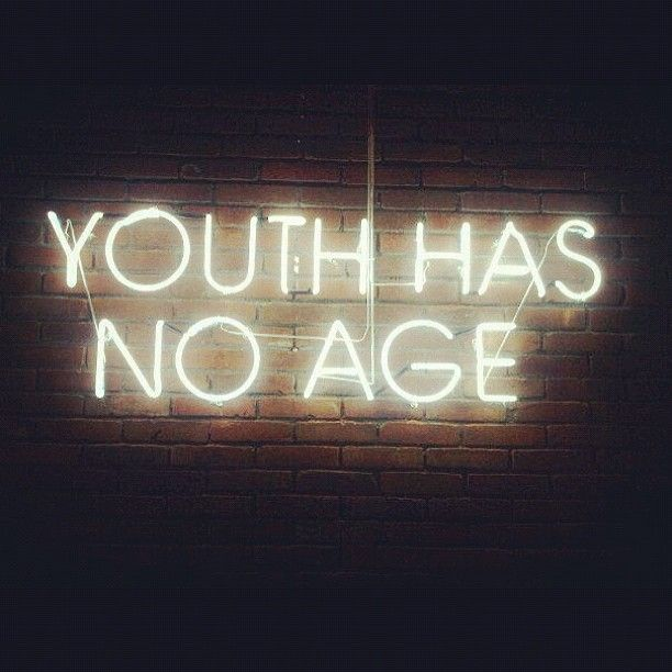 I am going to remember this saying when I am 65 or 70.. kind of like you're only as young as you feel lol