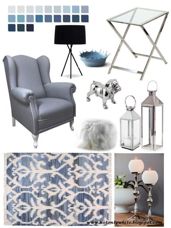 Inspiracje dla pięknego domu: kolaż konkursowy z produktami ze sklepu Decolor.pl; autor: notonlywhite.blogspot.com