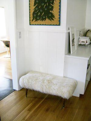 Remake idea - fur bench