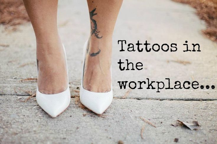 Is it appropriate to show your body art or tattoos at work? Piercings at work?