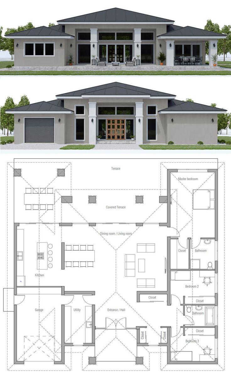 House Plan, Home Plan, Floor Plan, Architecture, #…