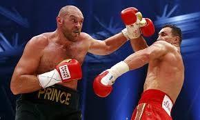 Tyson Fury Vs Klitschko