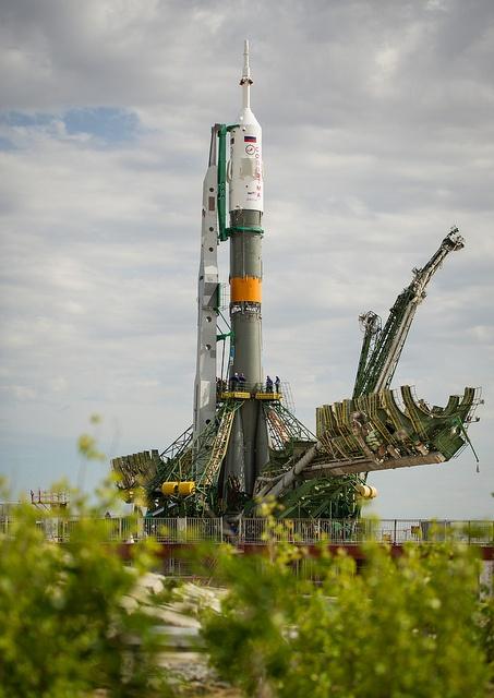 #soyuz #rocket #launchpad